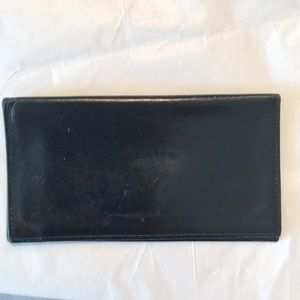 Vintage Coach Leather Checkbook Holder